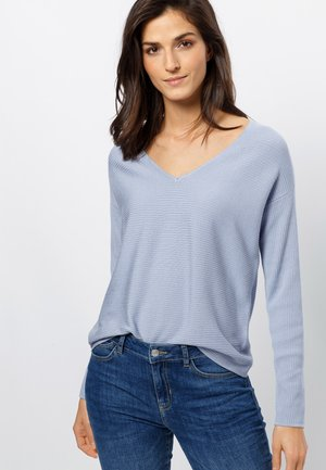 Strickpullover - soft blue