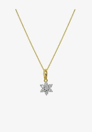 14 CT GOLD, DIAMOND 0,05CT - Necklace - goud