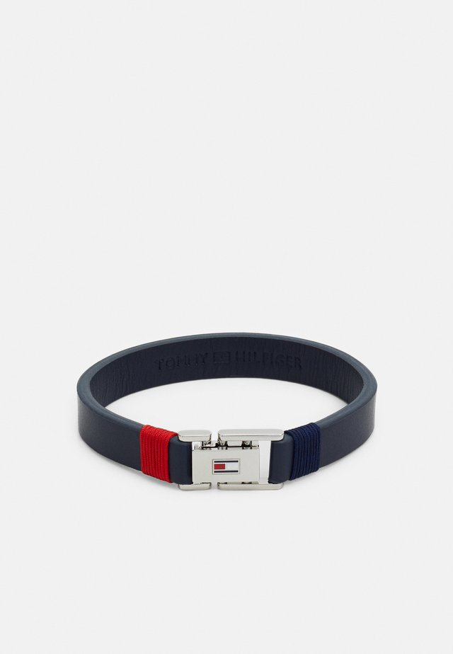 CASUAL - Bracelet - blau/silber-coloured/rot