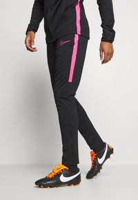 Nike Performance - DRY SUIT SET - Tracksuit - black/hyper pink - 3