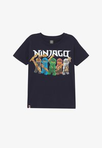 LEGO Wear - Print T-shirt - dark navy - 2