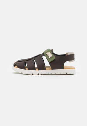 ORUGA KIDS - Sandals - dark brown