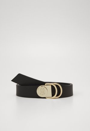 RING BELT - Cintura - black