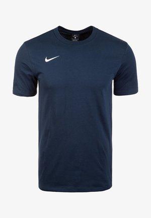 CLUB19 HERREN - Sports shirt - obsidian/white
