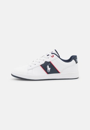 OAKVIEW II - Trainers - white smooth/navy/red
