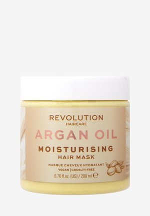 HAIR MASK MOISTURISING ARGAN OIL - Haarmasker - -