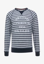 CREW - Sweater - navy/white