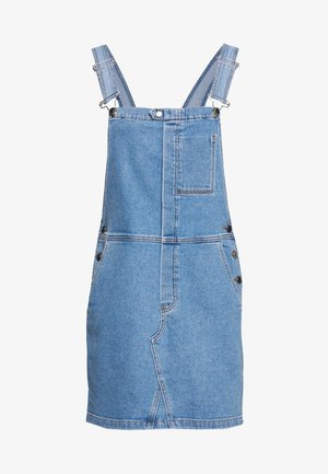 ULRIKKE OVERALL DRESS WASH MEMPHIS - Denim dress - denim blue