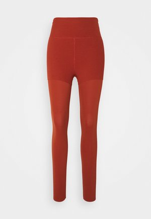 LUXE LAYERED 7/8 - Tights - rugged orange/light sienna