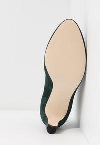 Anna Field - LEATHER - Ankelstøvler - dark green - 6