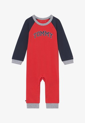 BABY COVERALL - Overall / Jumpsuit /Buksedragter - red