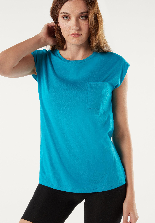 Damen HALBARM - Nachtwäsche Shirt