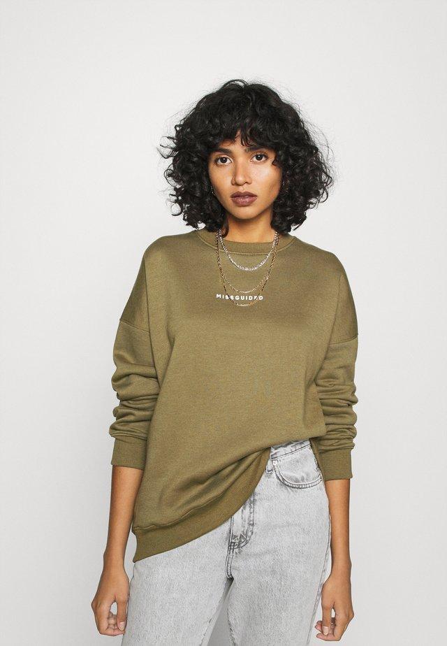 BASIC OVERSIZED - Sweatshirt - khaki