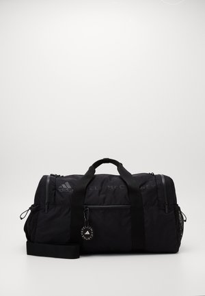 SQUARE DUFFEL - Sports bag - black/sofpow