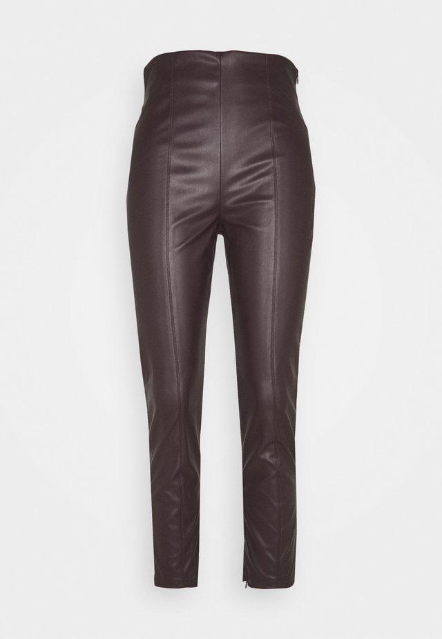 BARTOLO - Trousers - testa di moro