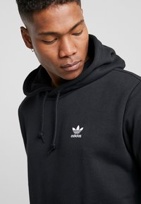 adidas Originals - ESSENTIAL HOODY UNISEX - Hoodie - black - 4