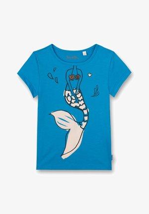 KIDSWEAR - MERMAID - Print T-shirt - blau