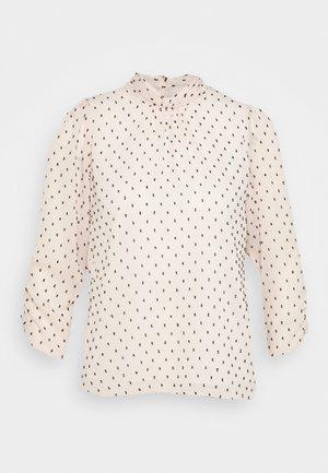 BILLIE AND BLOSSOM DOBBY TWIST NECK - T-shirt à manches longues - blush