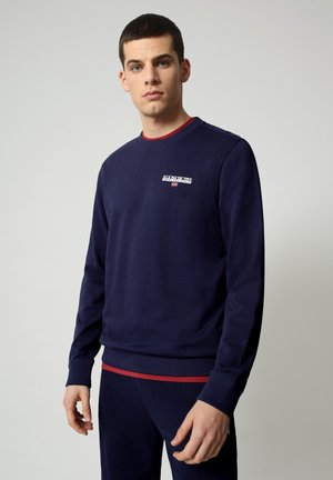 B-ICE CREW - Jumper - medieval blue