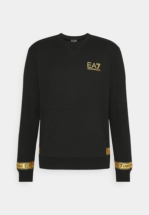 Collegepaita - black/gold