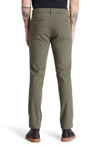 Timberland - Trousers - grape leaf