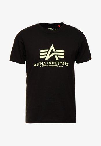 RAINBOW  - Print T-shirt - black