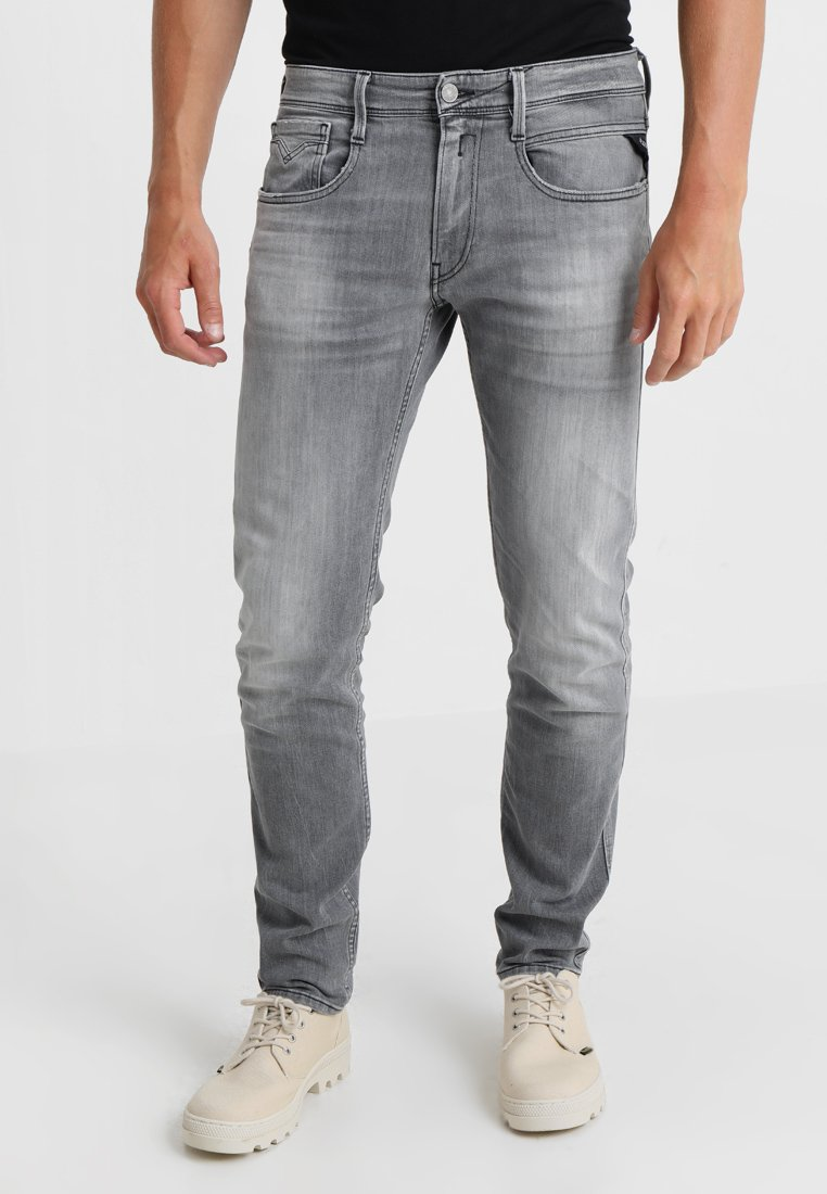 Replay - ANBASS - Slim fit jeans - grey denim