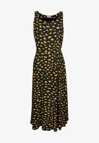 Alba Moda - Maxi dress - schwarz gelb - 4
