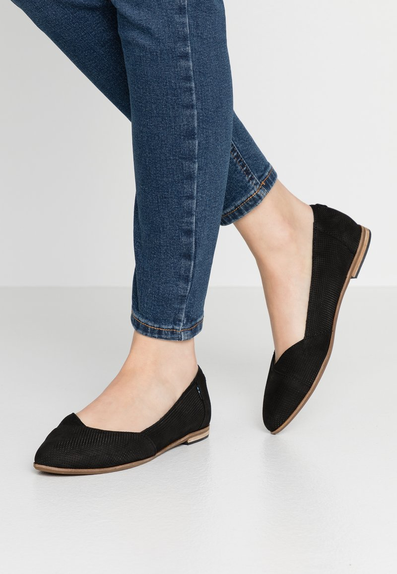 TOMS - JULIE - Ballet pumps - black