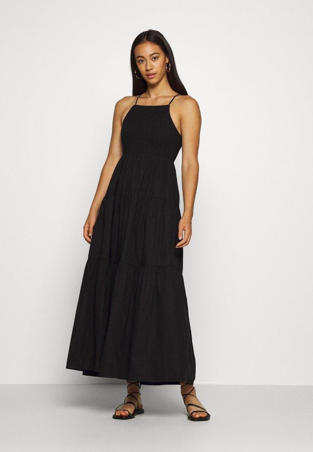 DAPHNE DRESS - Maxikjole - schwarz