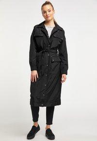 DreiMaster - Płaszcz wełniany /Płaszcz klasyczny - black - 1