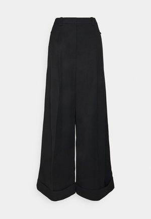 FLOU PANT - Kalhoty - black