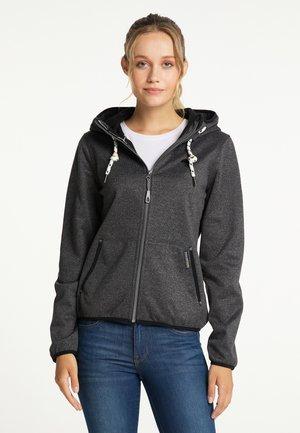 Fleece jacket - grau melange