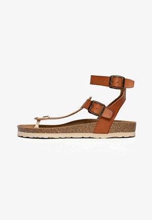 KWINANA - Sandalen met enkelbandjes - brown