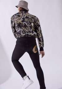 Versace Jeans Couture - RINSE - Jean slim - black - 3