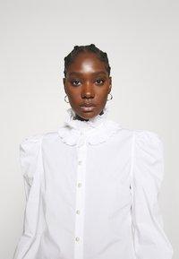 Custommade - BLANCA - Blouse - bright white - 5