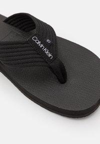 Calvin Klein - T-bar sandals - black - 5