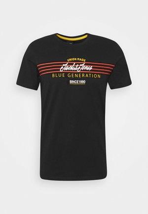 JORTONNI  - Print T-shirt - black
