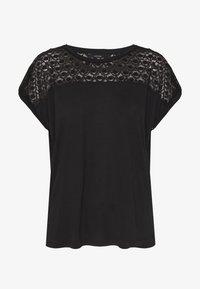 VMSOFIA LACE TOP - Basic T-shirt - black