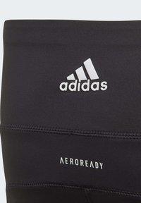 adidas Performance - BELIEVE THIS 3-STRIPES LEGGINGS - Legging - black - 3