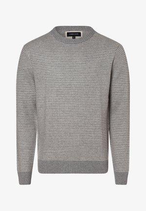 Jumper - mottled grey/off-white