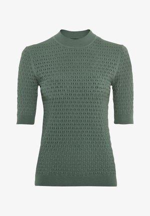 Print T-shirt - seegrün
