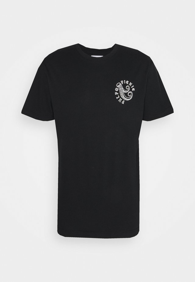 BEAT PULPO - T-shirt imprimé - black