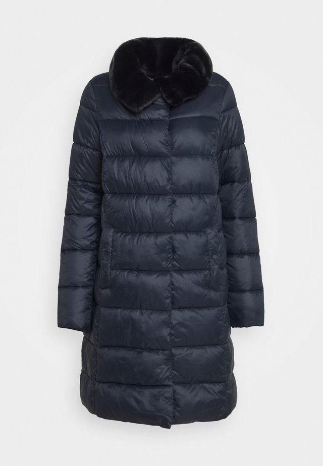 TEASEL QUILT - Classic coat - dark navy