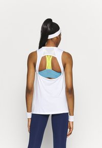 Nike Performance - TANK OPEN - Camiseta de deporte - white - 2
