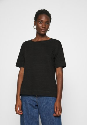 BOXY TEE - Basic T-shirt - black
