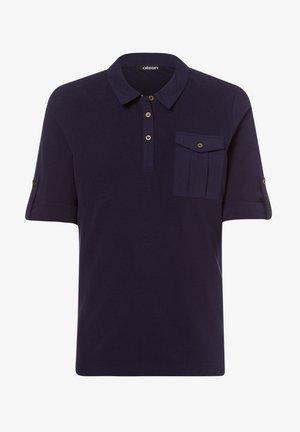 MIT BRUSTTASCHE - Polo shirt - dunkelblau