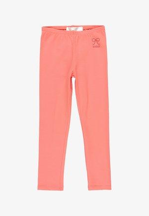 Leggings - Trousers - coral