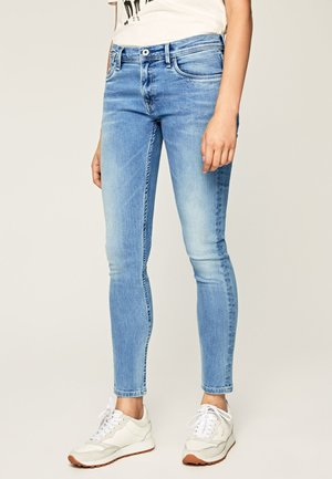 JOEY - Jeansy Skinny Fit - blue denim