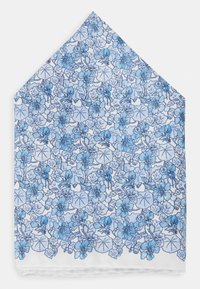 Eton - FLORAL POCKET SQUARE - Poszetka - blue - 1